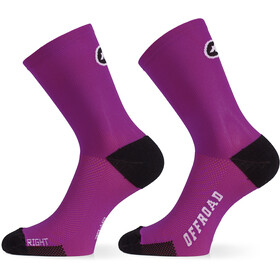 assos XC Socks cactus purple